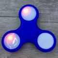 Спиннер с подсветкой LED светящийся Синий