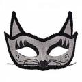 Венецианская маска Кошка (серебро)