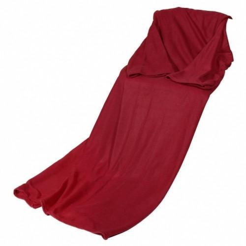 Плед с рукавами красный